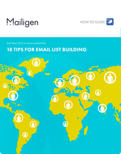 18 Tips for Email List Building